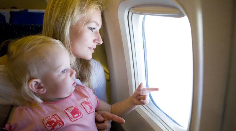 Как летать с детьми